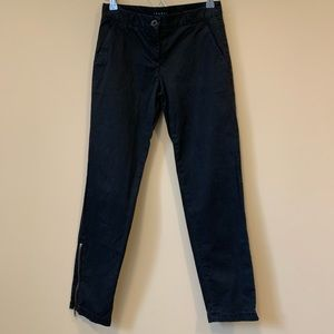 Theory Black Pants Size 0